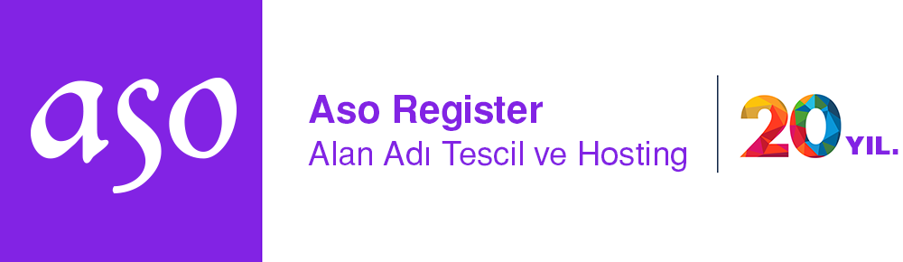 Aso Register.com | Alan adı, Web Hosting, kurumsal E-mail